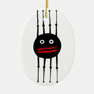 Insects fun cool graphic spider christmas ornament