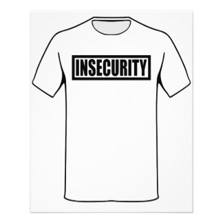 Insecurity Security Guard 11.5 Cm X 14 Cm Flyer