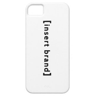 Insert Brand Phone/Tablet Cases iPhone 5 Cases