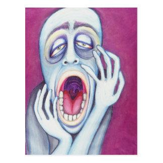 Insert Mouth, Open Monday Postcard