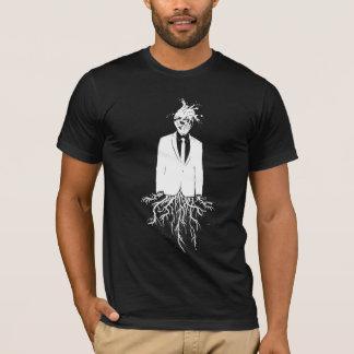 Insert Pretentious Title: WHT on BLK Series T-Shirt