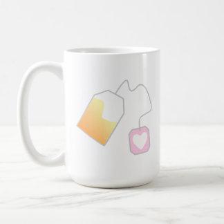 Insert Teabag Basic White Mug