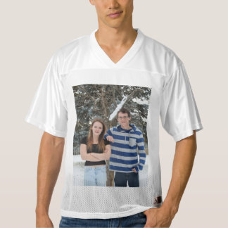 Insert your own photo Football Jersy