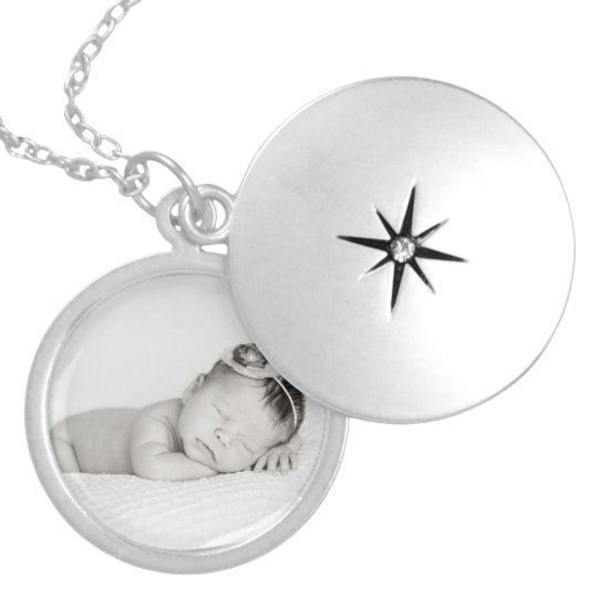 Insert Your Own Photo Locket Necklace