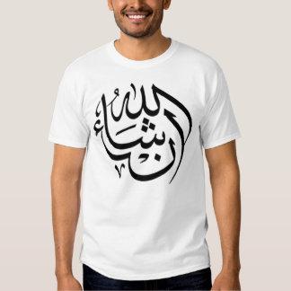 Inshallah إن شاء الله t shirt