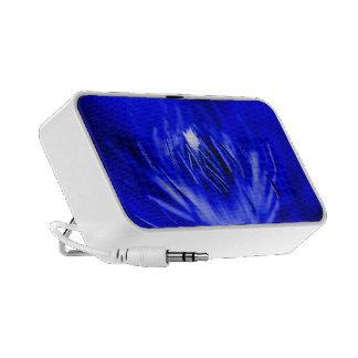 Inside-A-Flower Blue Mini Speakers