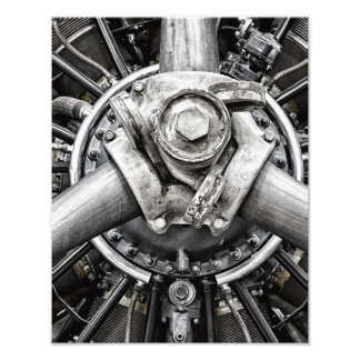 Inside a propeller photo print