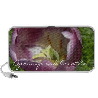 Inside a Purple Tulip Doodle Mini Speakers
