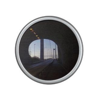 inside a Tunnel Bluetooth Speaker