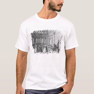 Inside a Turkish Mosque, illustration T-Shirt