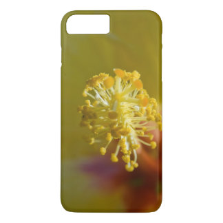 Inside A Yellow Hawaiian Hibiscus iPhone 7 Plus Case