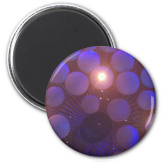 Inside Albert Hall 6 Cm Round Magnet