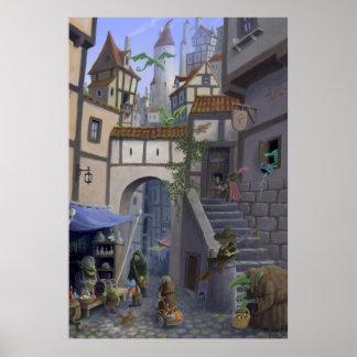 inside goblin city posters