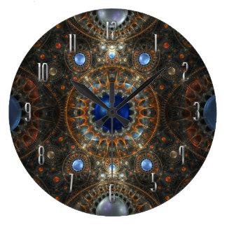 Inside my head's machinery Wall Clock