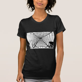 Inside Oil Drill Rig Sketch T-shirts