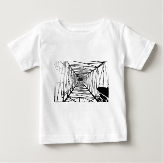 Inside Oil Drill Rig Sketch Tee Shirt