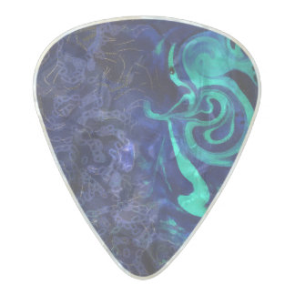Inside Pearl Celluloid Guitar Pick