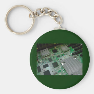 inside server computer basic round button key ring