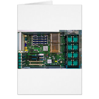 inside server computer card