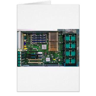 inside server computer greeting card