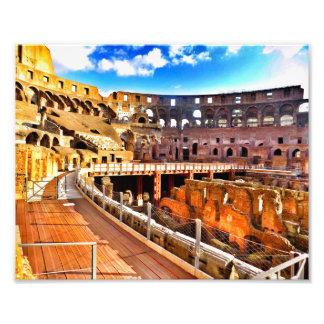 Inside the Colosseum Photo