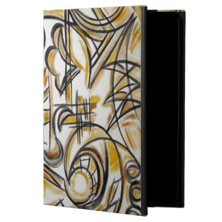Inside The Labyrinth - Abstract Art Handpainted Case For iPad Air