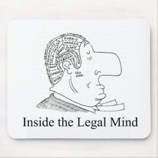 Inside the Legal Mind mousepad