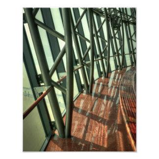 Inside the Macau Tower Photo Print