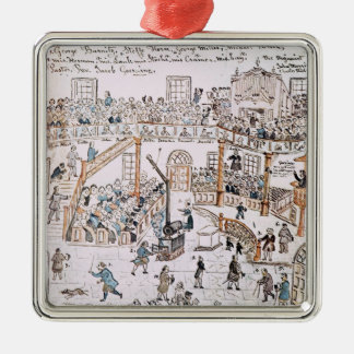 Inside the Old Lutheran Church, York County, 1800 Christmas Ornament