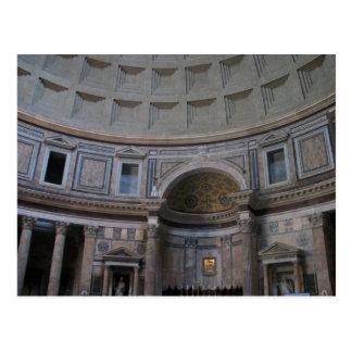 Inside the Pantheon Postcard