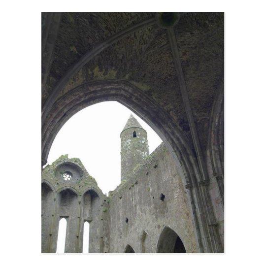 Inside The Rock Of Cashel Postcard