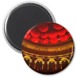 Inside the Royal Albert Hall 6 Cm Round Magnet