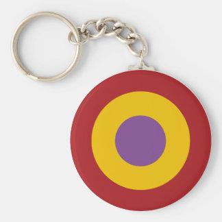 Insignia civil war, civil Spanish to war roundel Key Ring