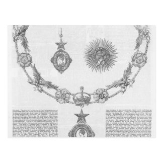 Insignia of the Order of Knighthood Postcard