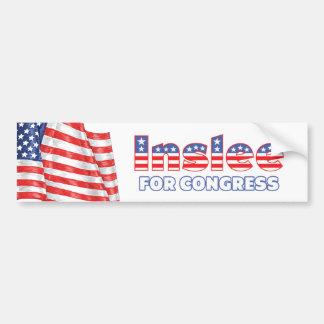 Inslee for Congress Patriotic American Flag Bumper Sticker