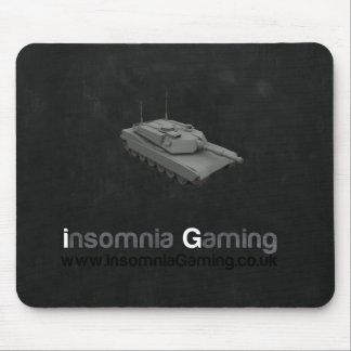 Insomnia Gaming Tank Mousemat. Mouse Mat