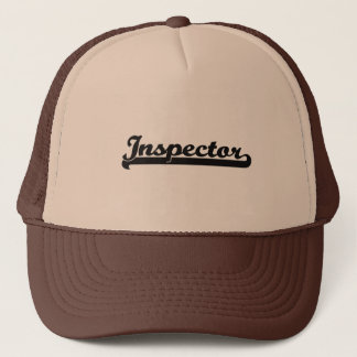 Inspector Classic Job Design Trucker Hat