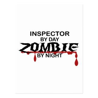 Inspector Zombie Postcard
