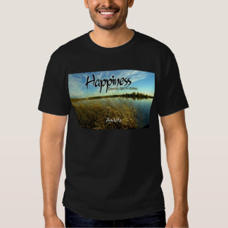 Inspiration -- Aristotle and Happiness Tees