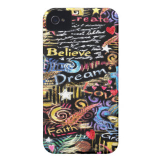 INSPIRATION - Believe Dream Love iPhone 4 Covers