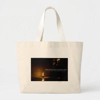 Inspiration   Edith Wharton Jumbo Tote Bag