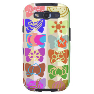 Inspiration from Colorful Lives of Butterflies Samsung Galaxy S3 Case