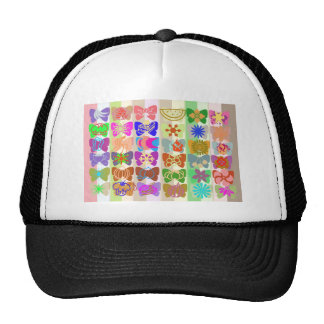 Inspiration from Colorful Lives of Butterflies Hat