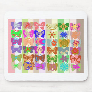 Inspiration from Colorful Lives of Butterflies Mousepads
