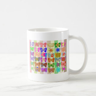 Inspiration from Colorful Lives of Butterflies Basic White Mug