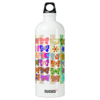 Inspiration from Colorful Lives of Butterflies SIGG Traveler 1.0L Water Bottle