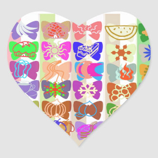 Inspiration from Colorful Lives of Butterflies Sticker