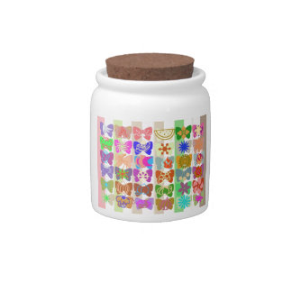 Inspiration from Colorful Lives of Butterflies Candy Dish