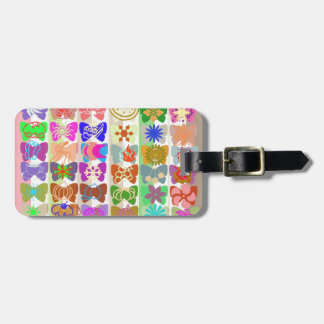 Inspiration from Colorful Lives of Butterflies Tag For Bags