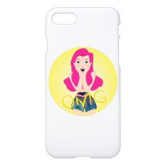 Inspiration Illustration: OMG Girl iPhone 7 Case